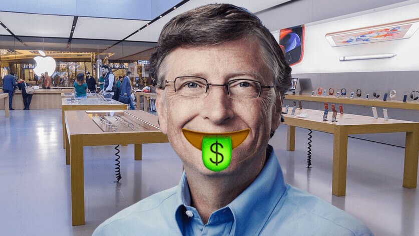 Bill Gates owns a lot more Apple stock than you might think