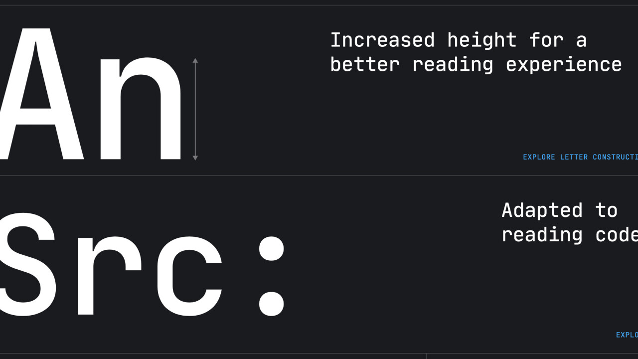 This free font was designed to make it easier for devs to read code