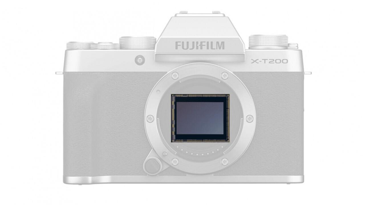 Fujifilm's new X-T200 camera uses gyro sensors to shoot steady 4K video