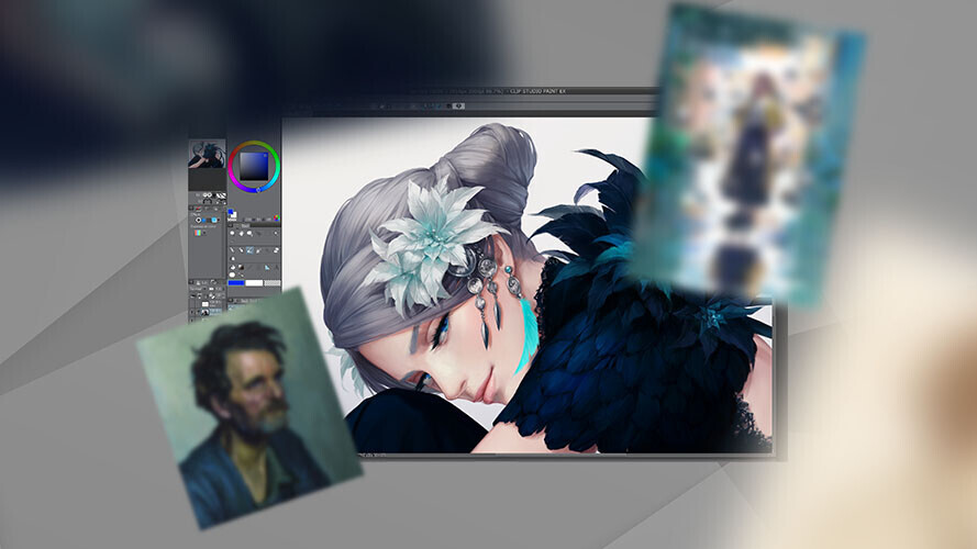 Want to create your own comics? This Clip Studio bundle can make it happen