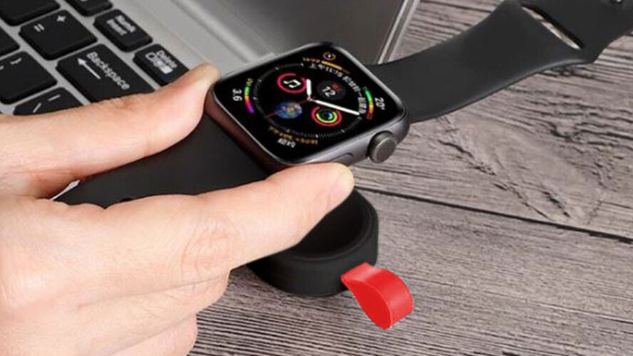 This portable wireless Apple Watch charger is on-the-go power for under $17