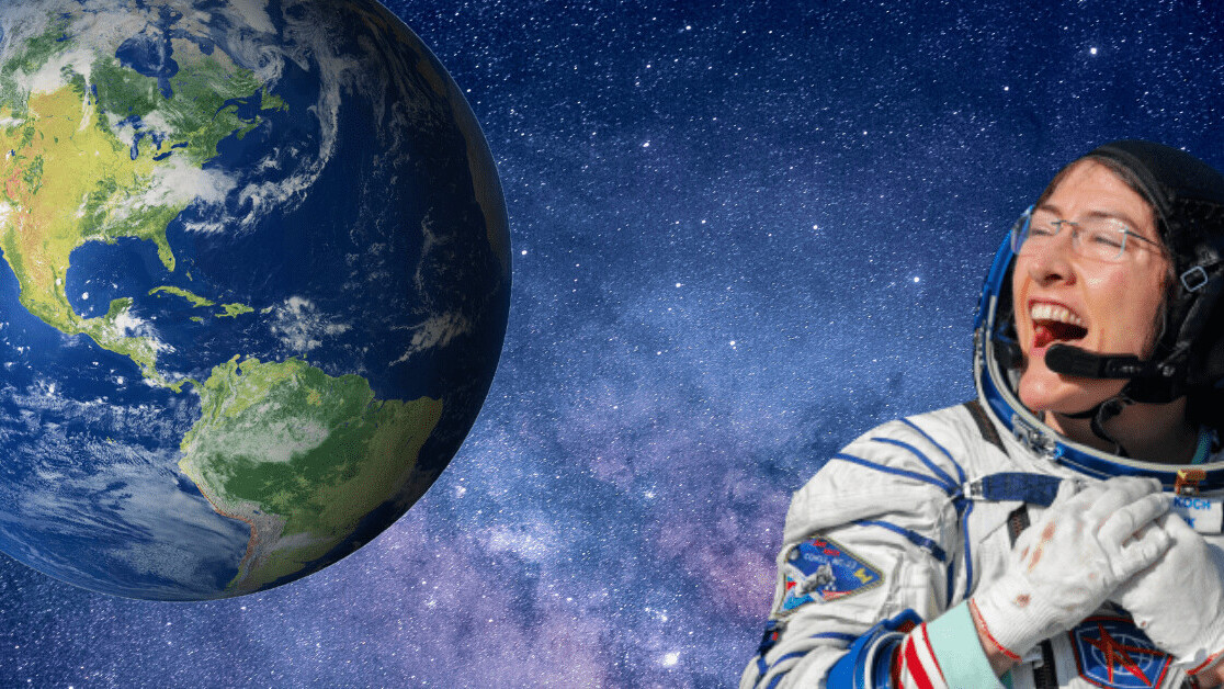 Christina Koch returns to Earth after breaking record for longest spaceflight by a woman