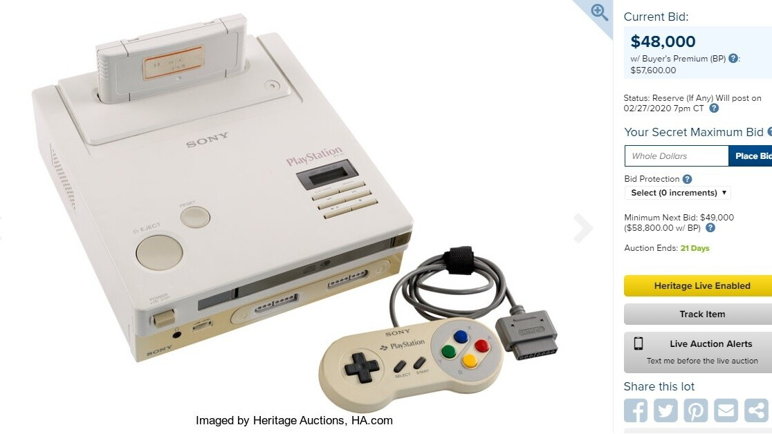 Rare Nintendo Playstation sells at auction for $360k