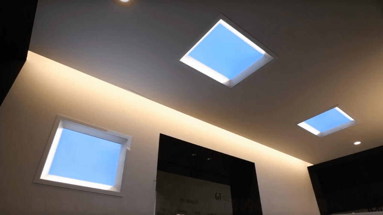 Mitsubishi built a fake skylight that might come close to the real thing