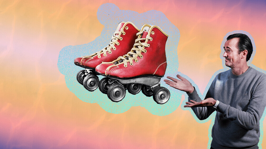 Why you should wear roller skates to your next networking event