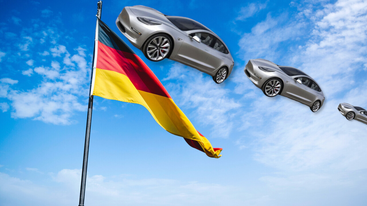 New Tesla registrations up 168% in Germany — adding to Model 3's EV dominance in Europe