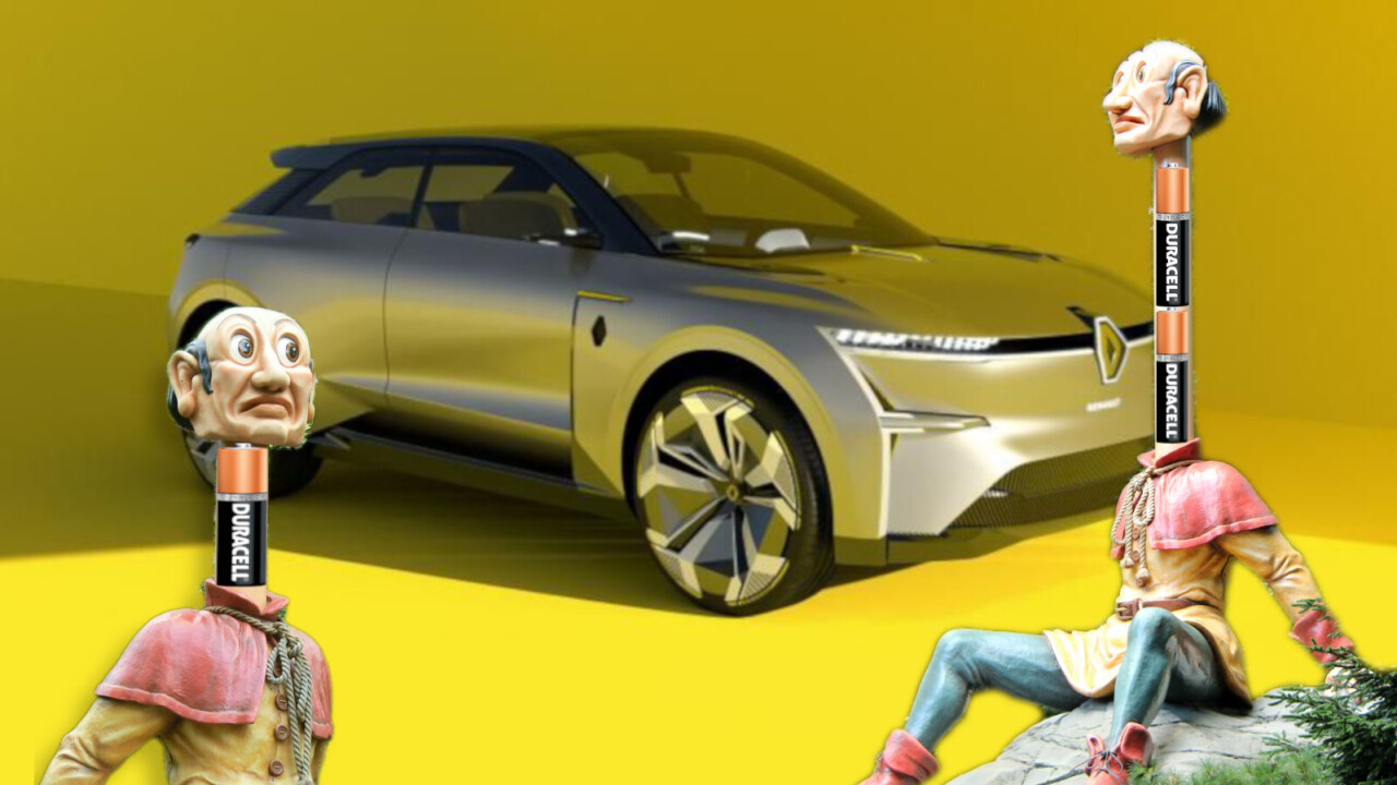 Renault's concept EV can make itself bigger to fit more batteries