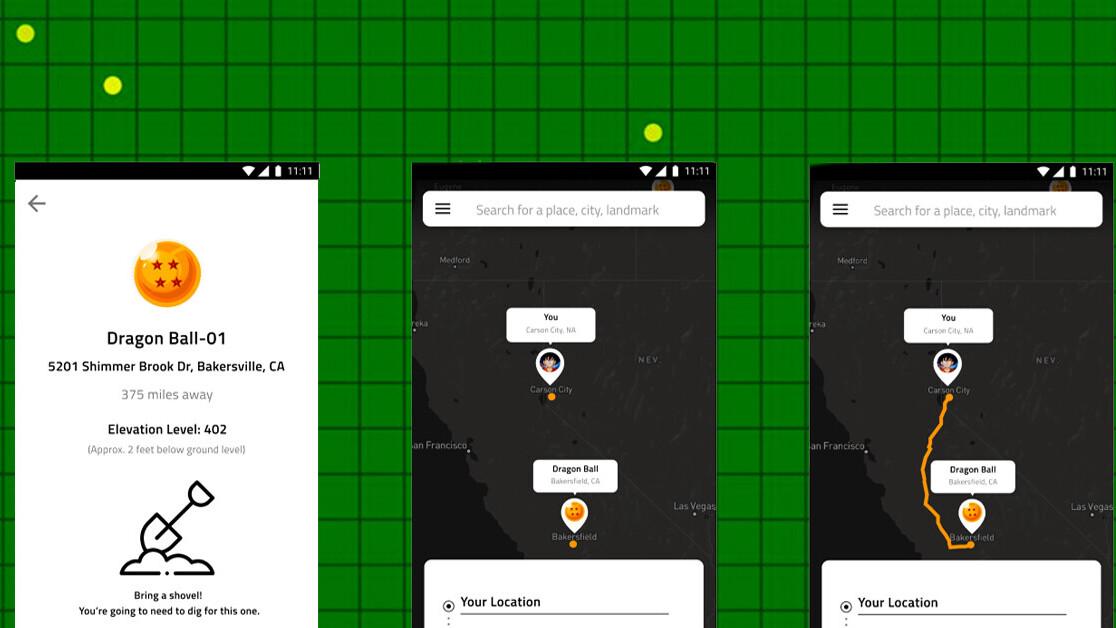 Designer turns Dragon Ball's radar into a mobile app
