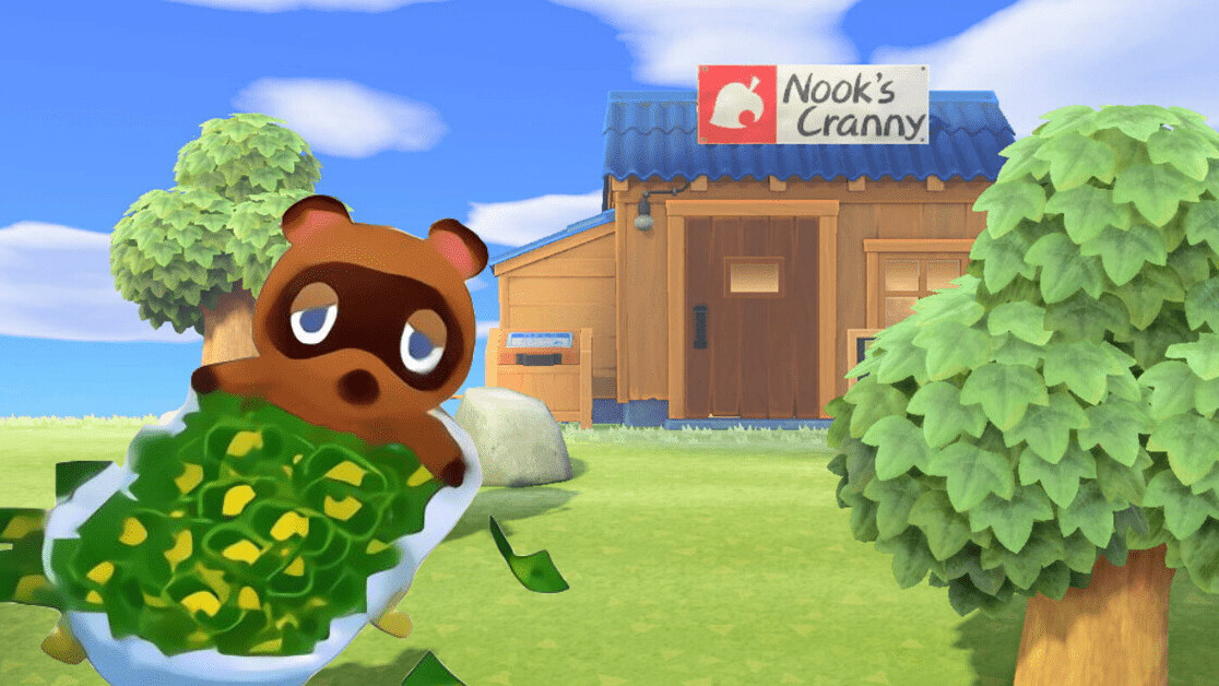 Animal Crossing's Tom Nook is a patriarchal tyrant in raccoon form