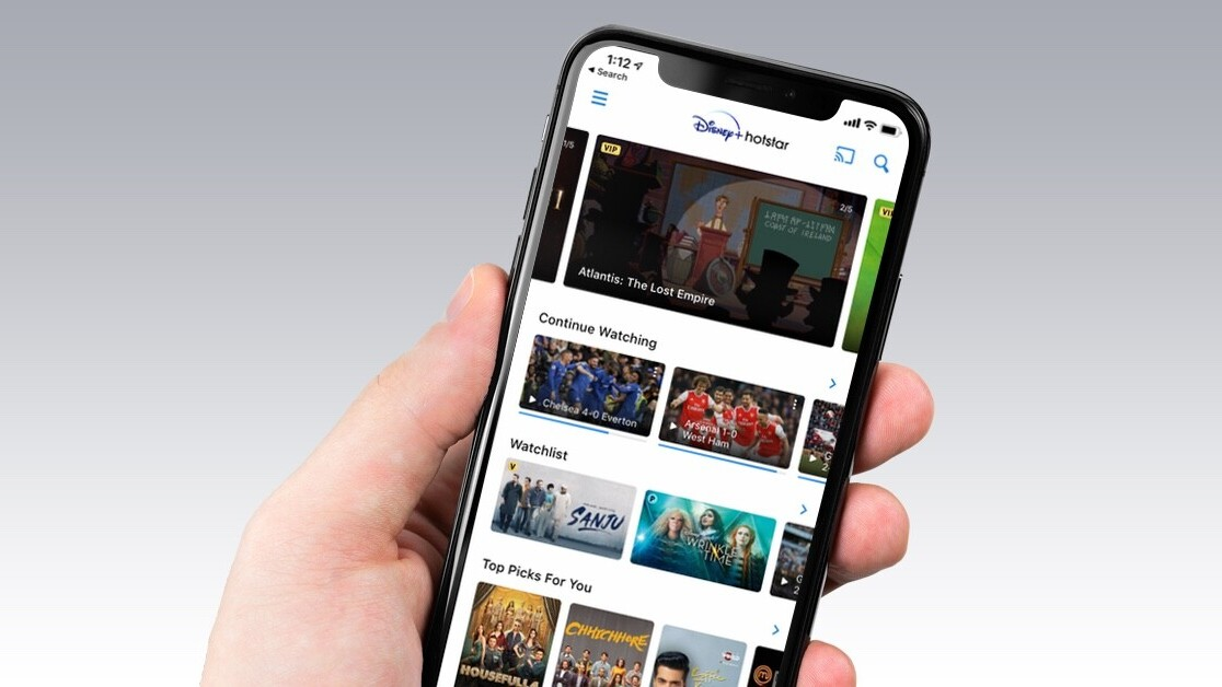 Disney+ quietly lands on India's Hotstar ahead of launch date