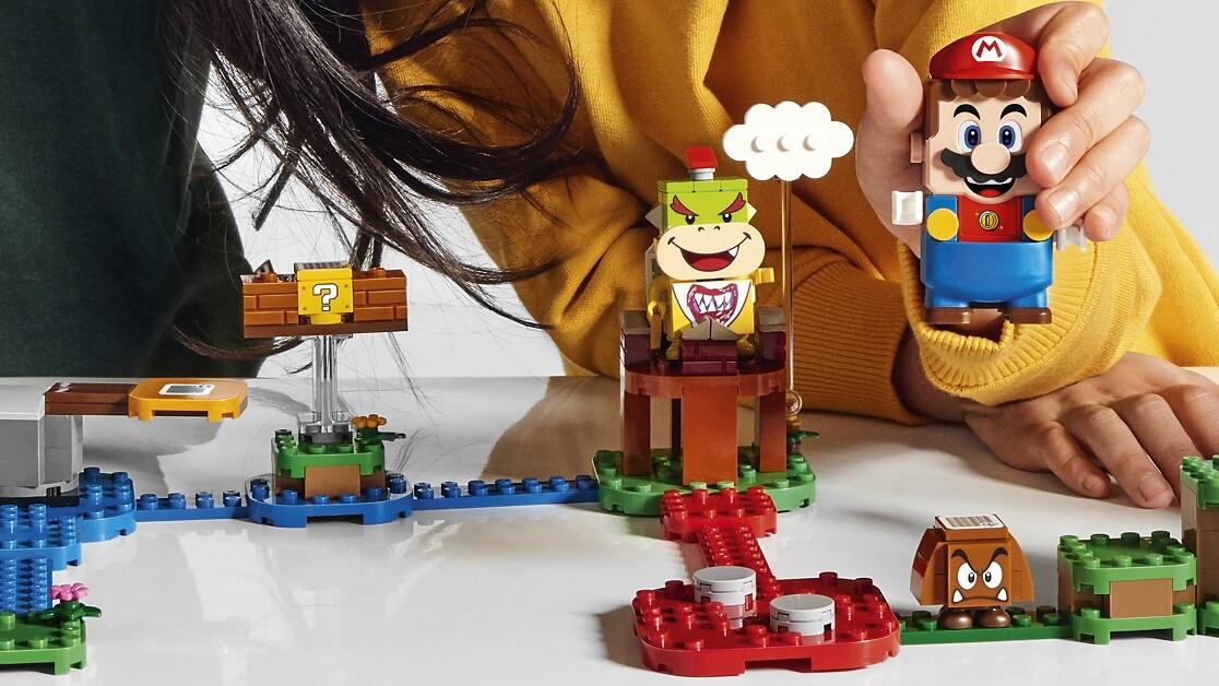 LEGO Super Mario combines two staples of childhood