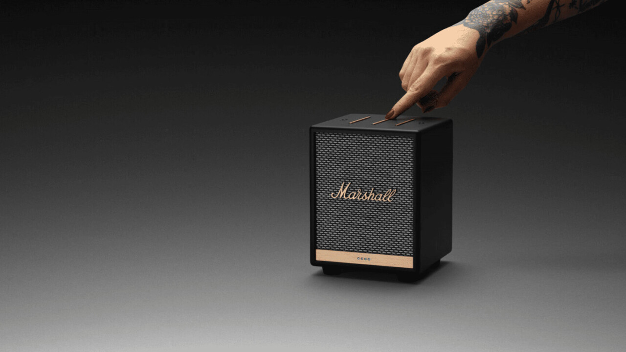 Marshall's tiny new Uxbridge speaker comes with Alexa built-in