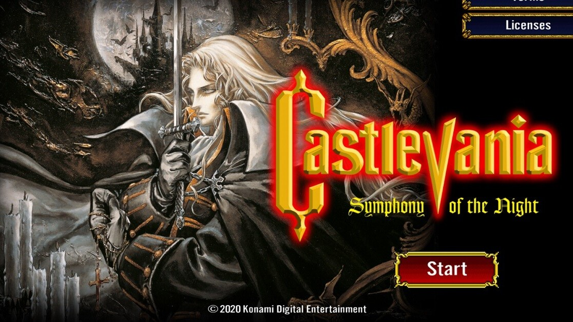 Castlevania: Symphony of the Night surprise-launches on mobile
