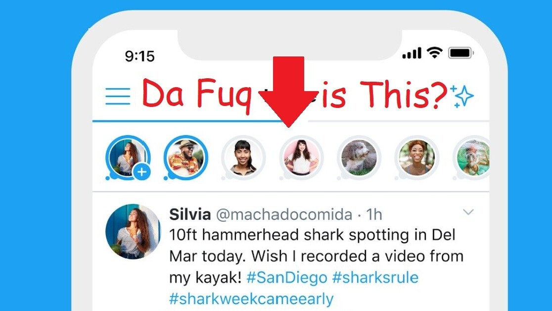 Twitter is working on its version of Stories and we're already over it