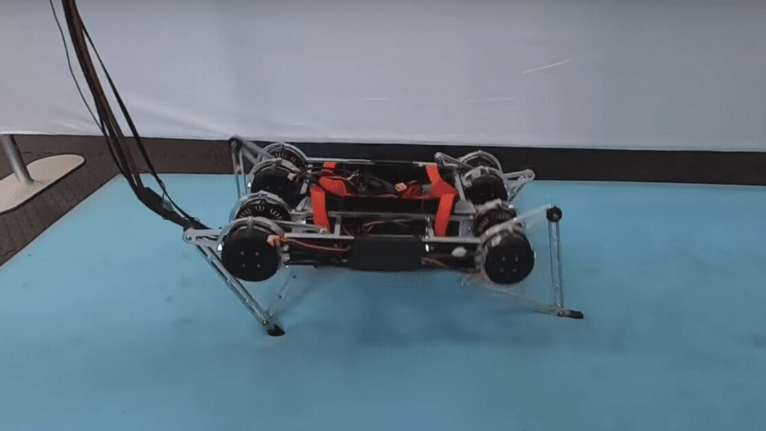 Google algorithm teaches robot how to walk in mere hours