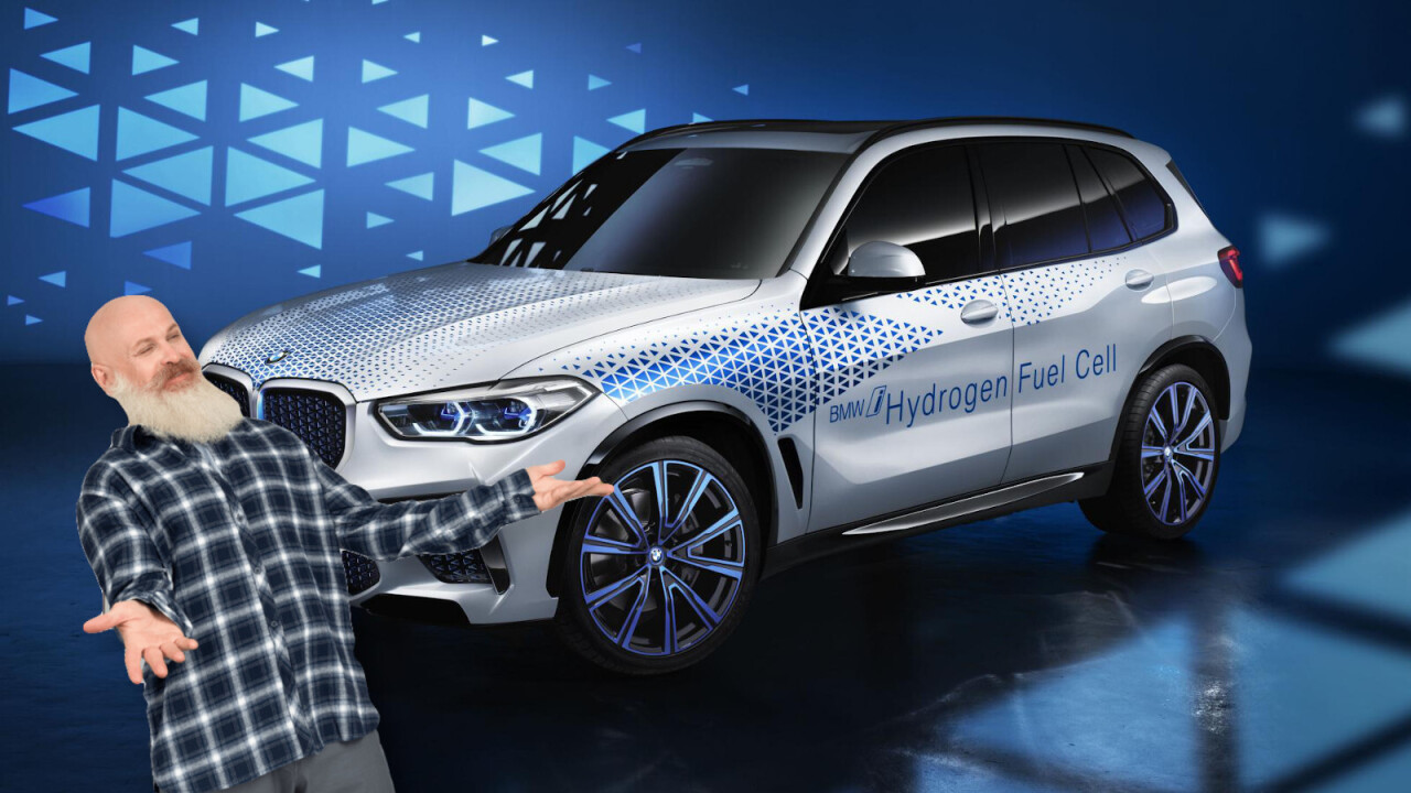 BMW readies for hydrogen-powered X5 tests in 2022