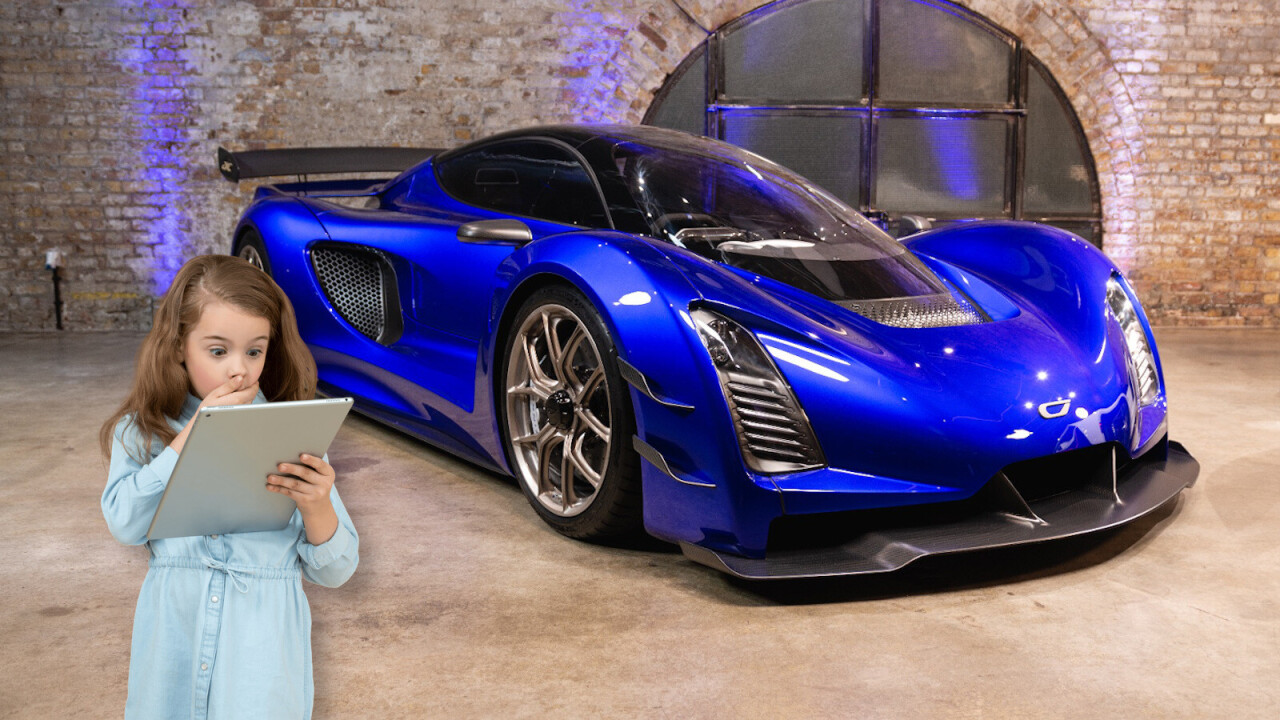 This 3D-printed hypercar runs on electricity and methanol (and costs $2.6M)
