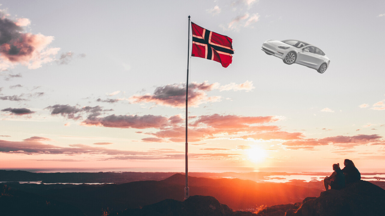 85% of cars sold in Norway last month were electric