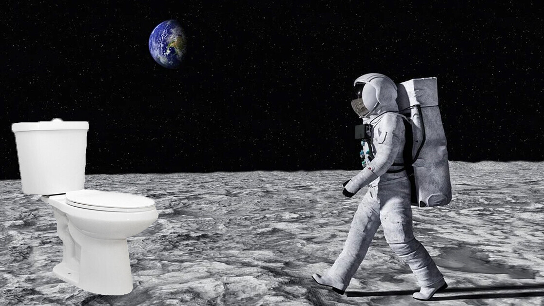 Research: Moon colonies could be (partially) built with human urine