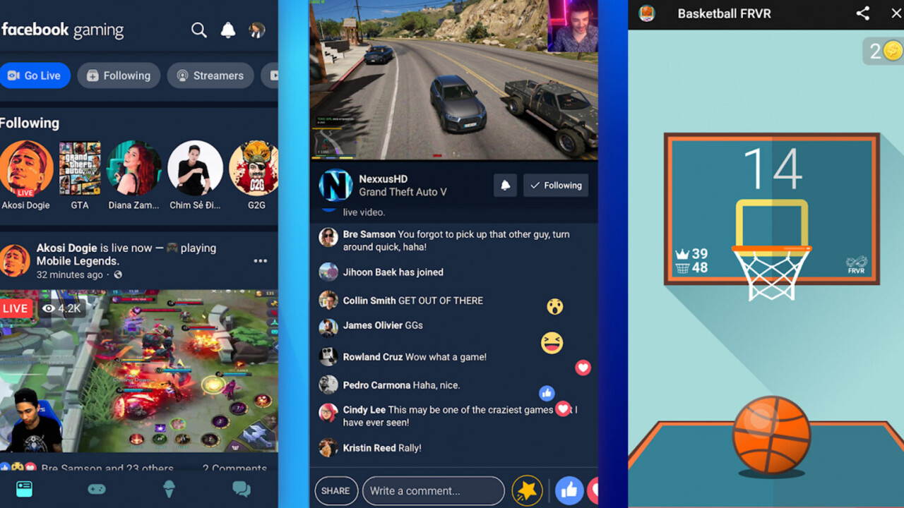 Facebook launches gaming app in the US to take on Twitch and YouTube