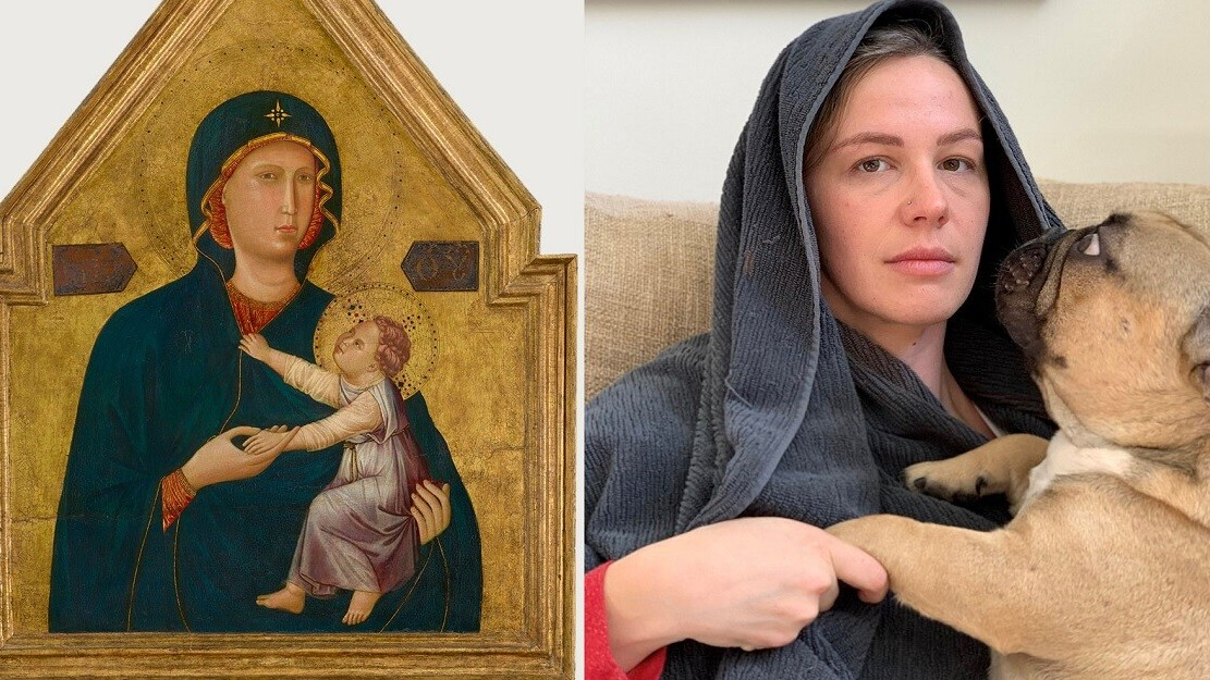Life imitating art: Quarantined people remix famous paintings with household items