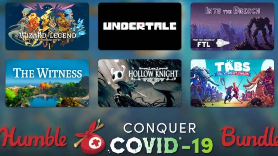 Humble's Conquer COVID-19 Bundle offers some kickass games for charity