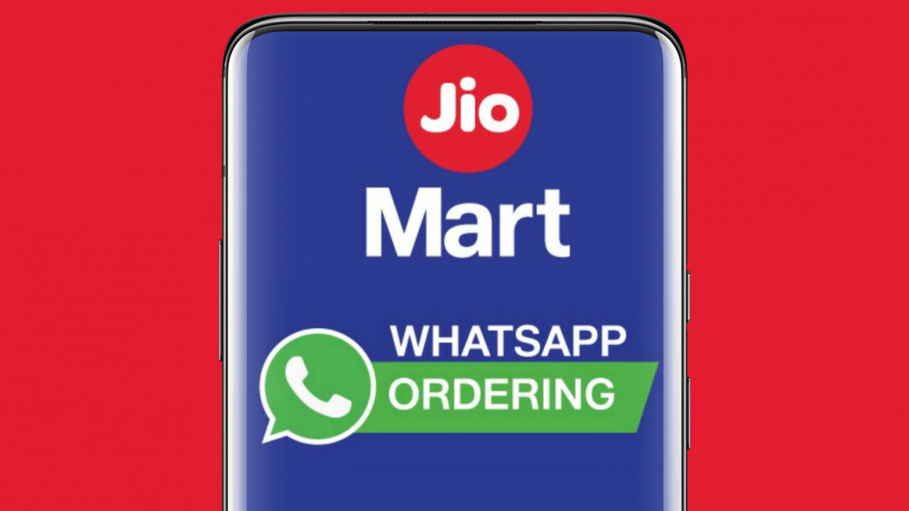 Facebook-backed Reliance Jio pilots basic grocery ordering service on WhatsApp in India