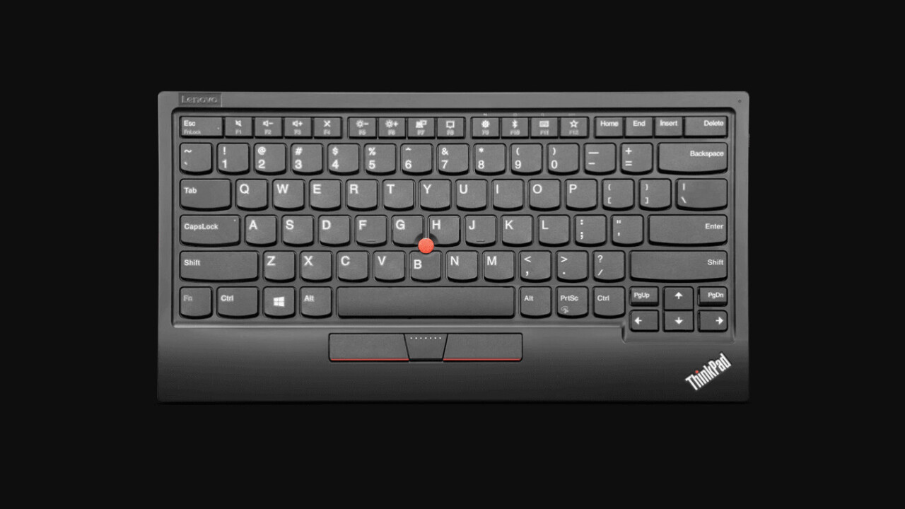 Lenovo made a new ThinkPad keyboard for your desktop – mouse nub and all