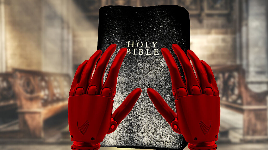 Someone trained an AI on BDSM literature so it could remix the King James Bible
