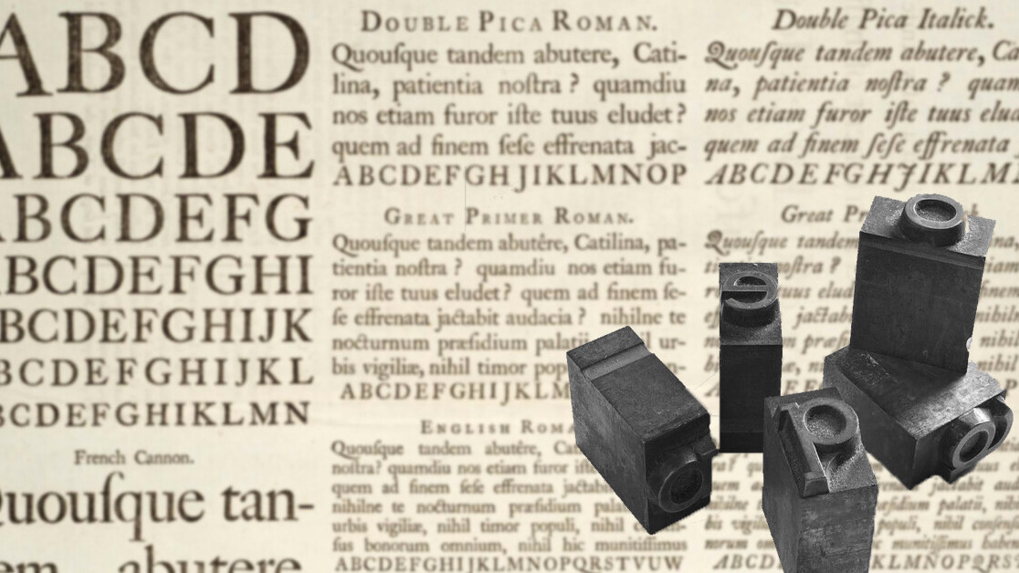 A brief history of typeface and its online evolution