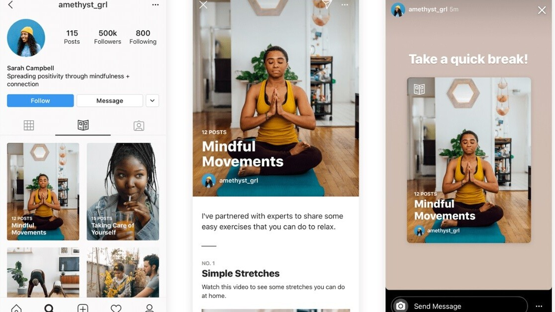Your guide to Instagram's new… well, Guides