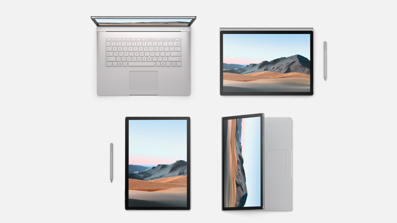 Microsoft announces Surface Book 3 with Nvidia RTX Quadro graphics and Intel's latest