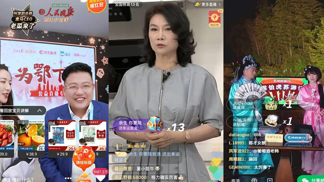 China's CEOs are making millions by selling their products on livestreams