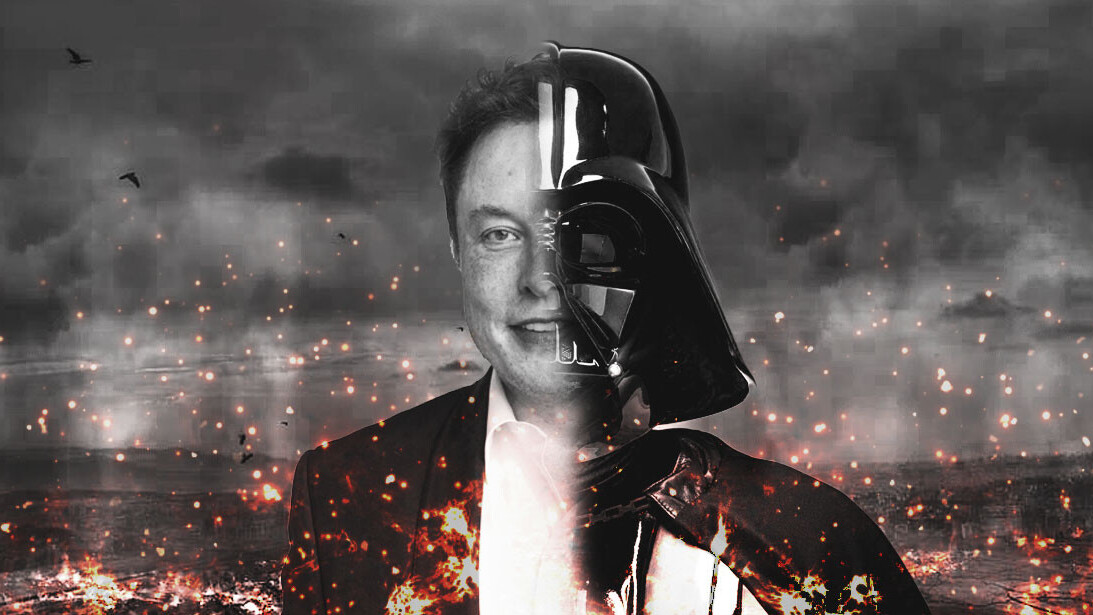 Elon Musk completes his transition to the Dark Side with a salute to extremists