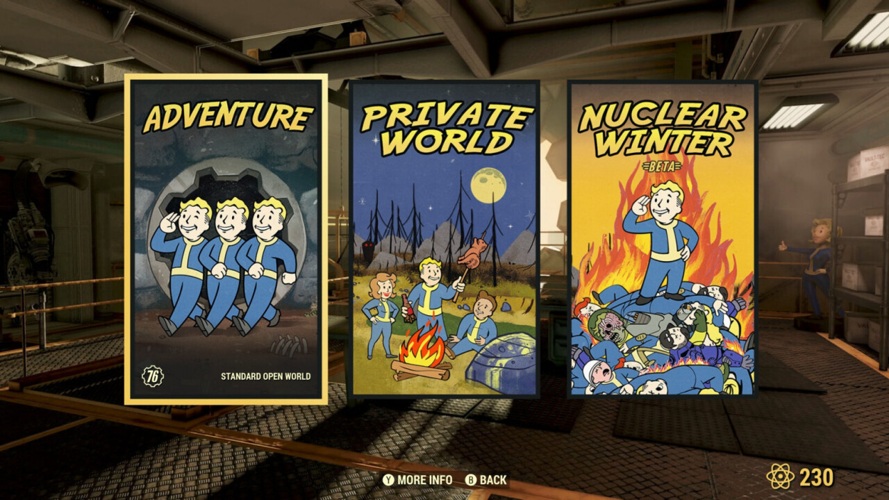 Fallout 76 on private servers is the quarantine gaming experience I deserve