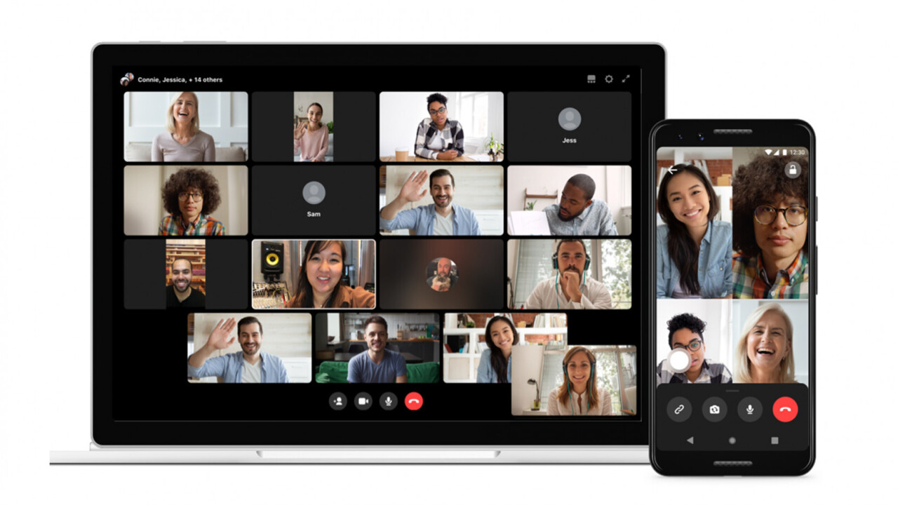 Facebook announces Workplace Rooms, basically Messenger Rooms for work