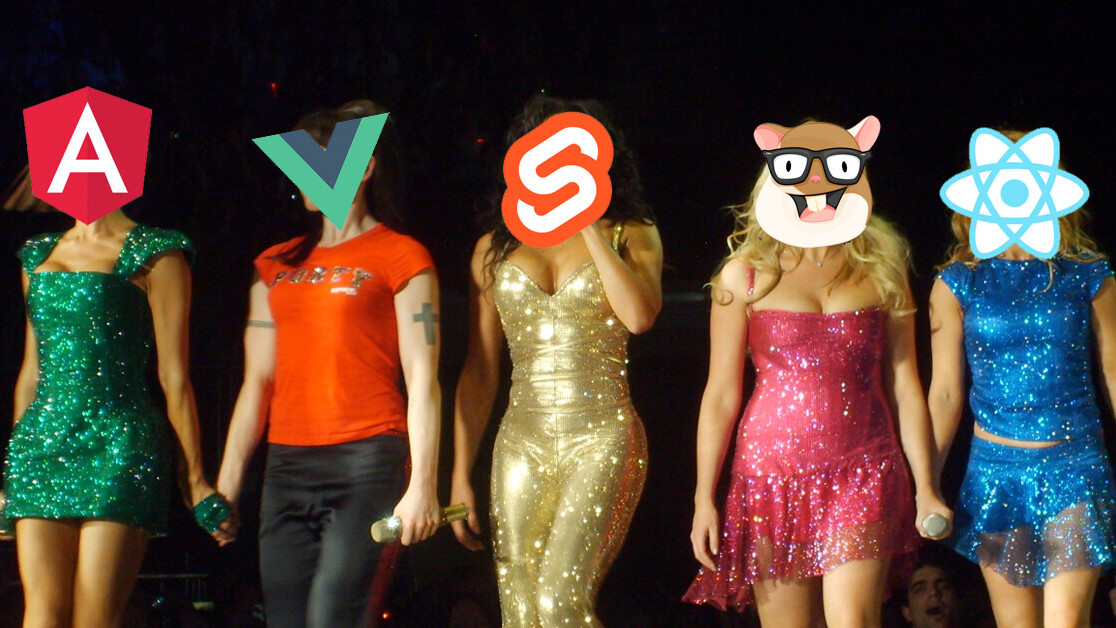 Here's what JavaScript frameworks have in common with the Spice Girls