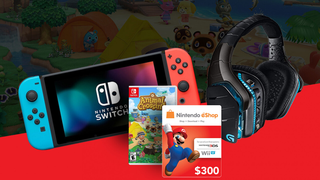 Win a Nintendo Switch, Animal Crossing New Horizons and more cool stuff for free