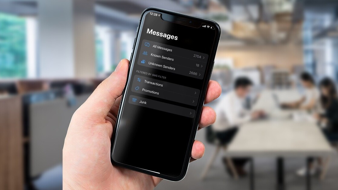 See you in hell, spam texts: iOS14 has an SMS filtering feature