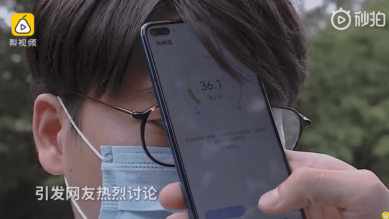 Huawei's new phone can take your temperature because coronavirus
