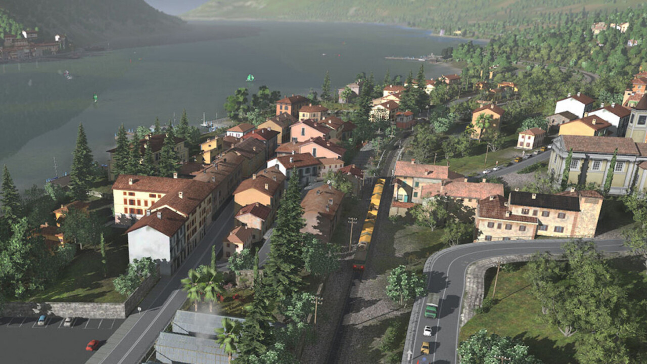 The Trainz Railroad Simulator makes you feel like America's railways are all yours