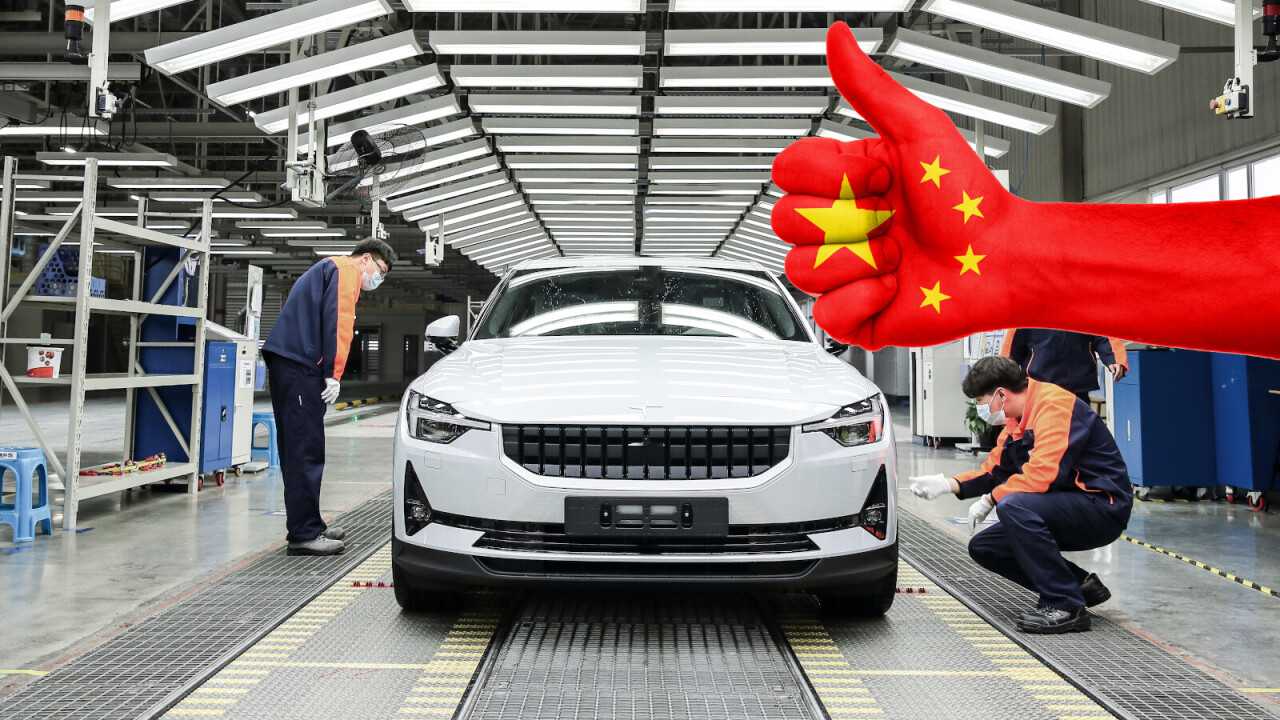 Report: Polestar to build more Chinese showrooms to compete with Tesla