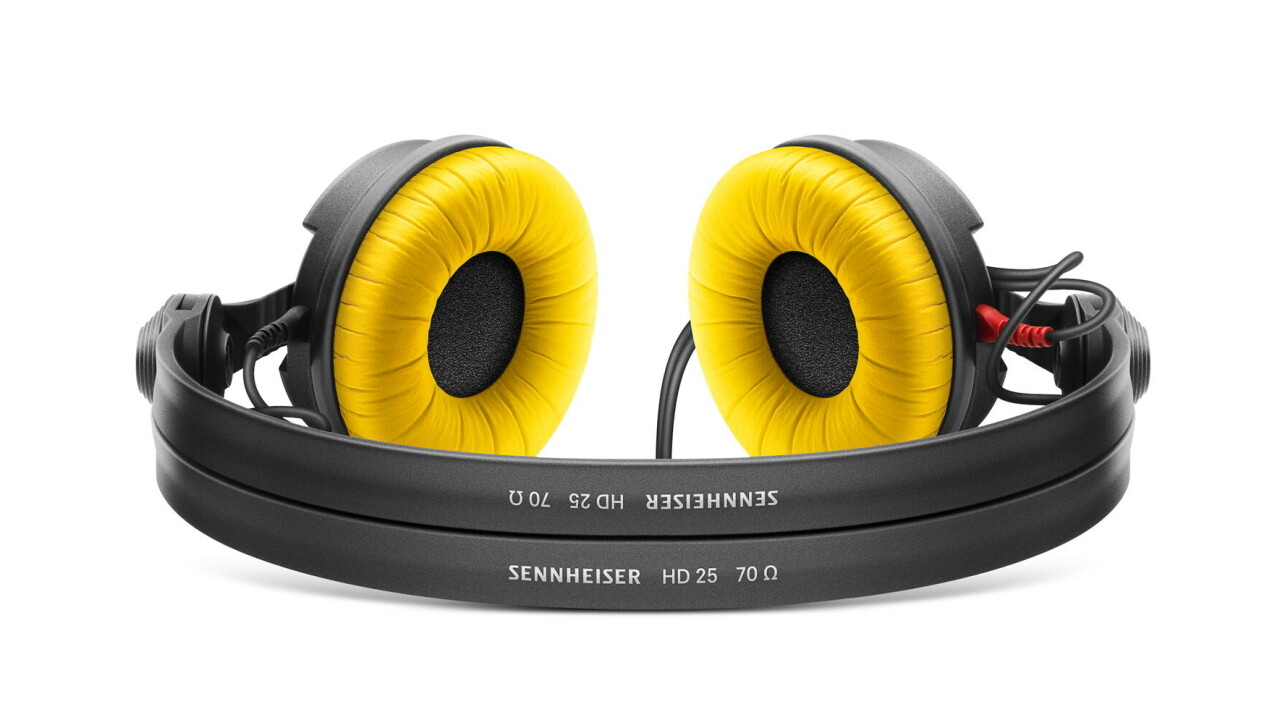 Sennheiser celebrates classic HD 25 headphones with a price cut and limited color