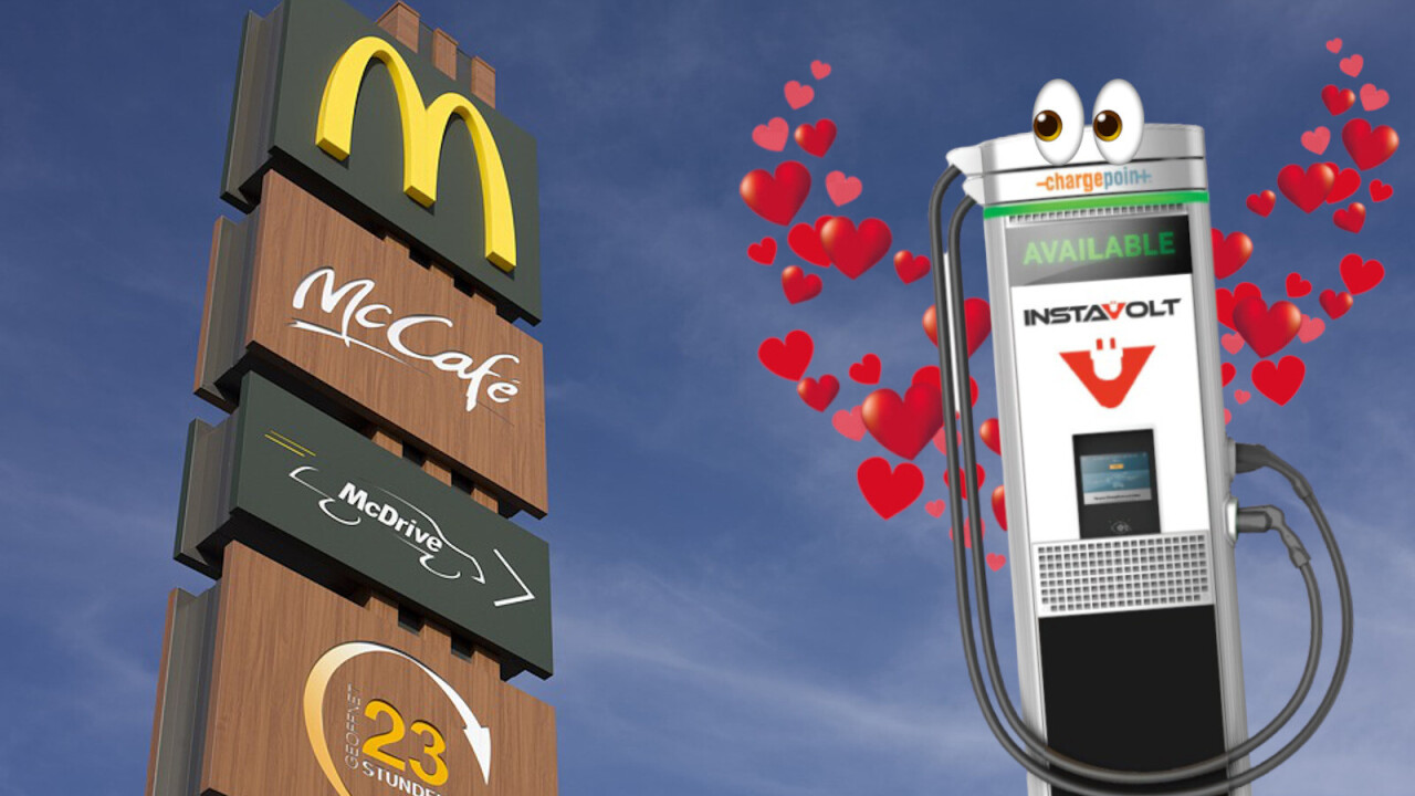 McDonald's will add EV chargers to hundreds of its UK restaurants — and I'm lovin' it
