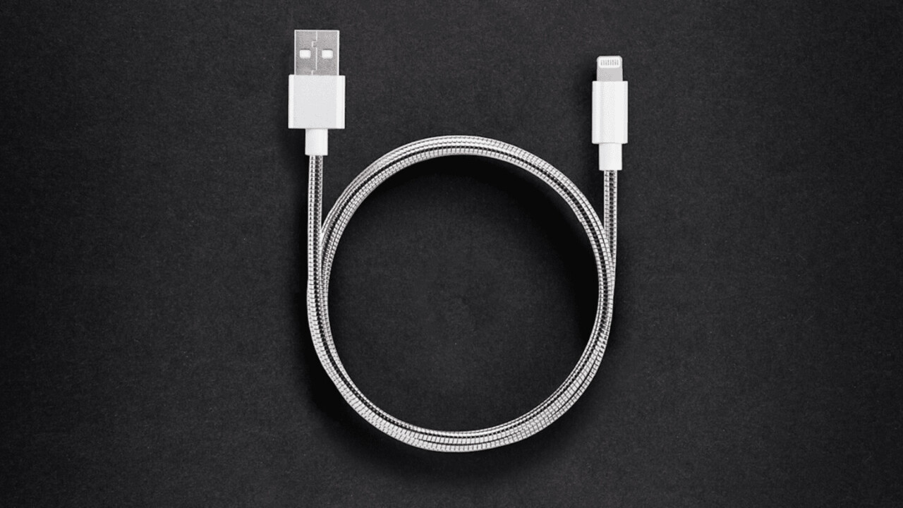 Bend it over 60,000 times. The stainless steel Evercable isn't like those cheapo phone cables