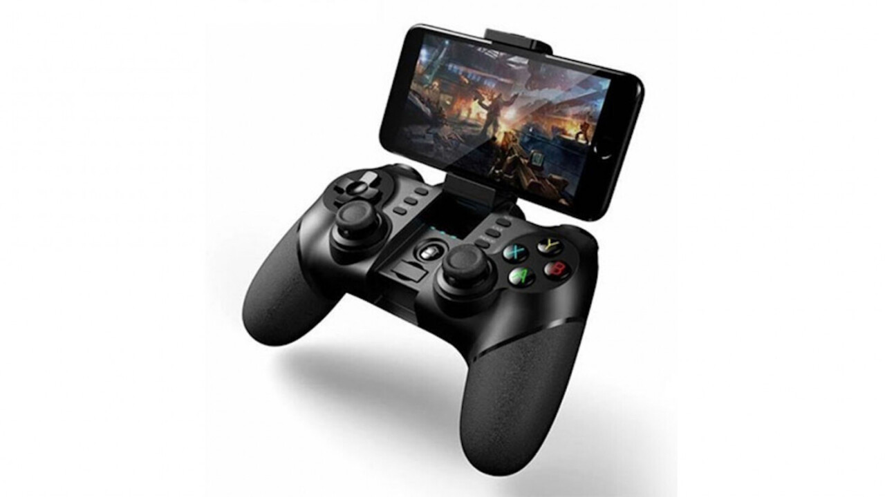 Take mobile gaming to the next level with this gaming controller on sale