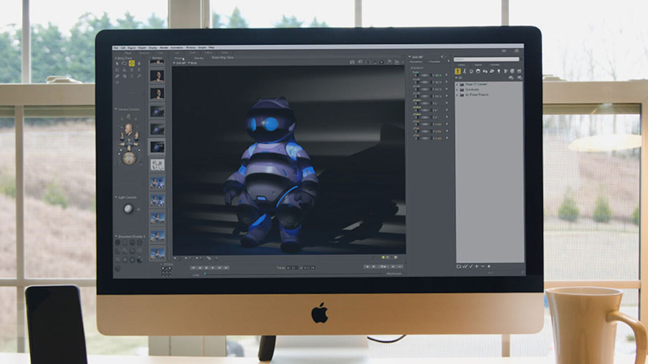 Poser Pro helps artists create brilliant computer-animated humans and animals
