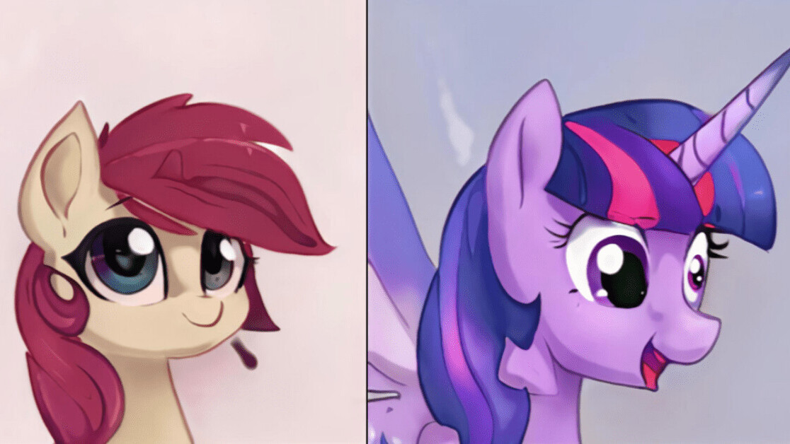 This AI spit outs endless new My Little Pony characters