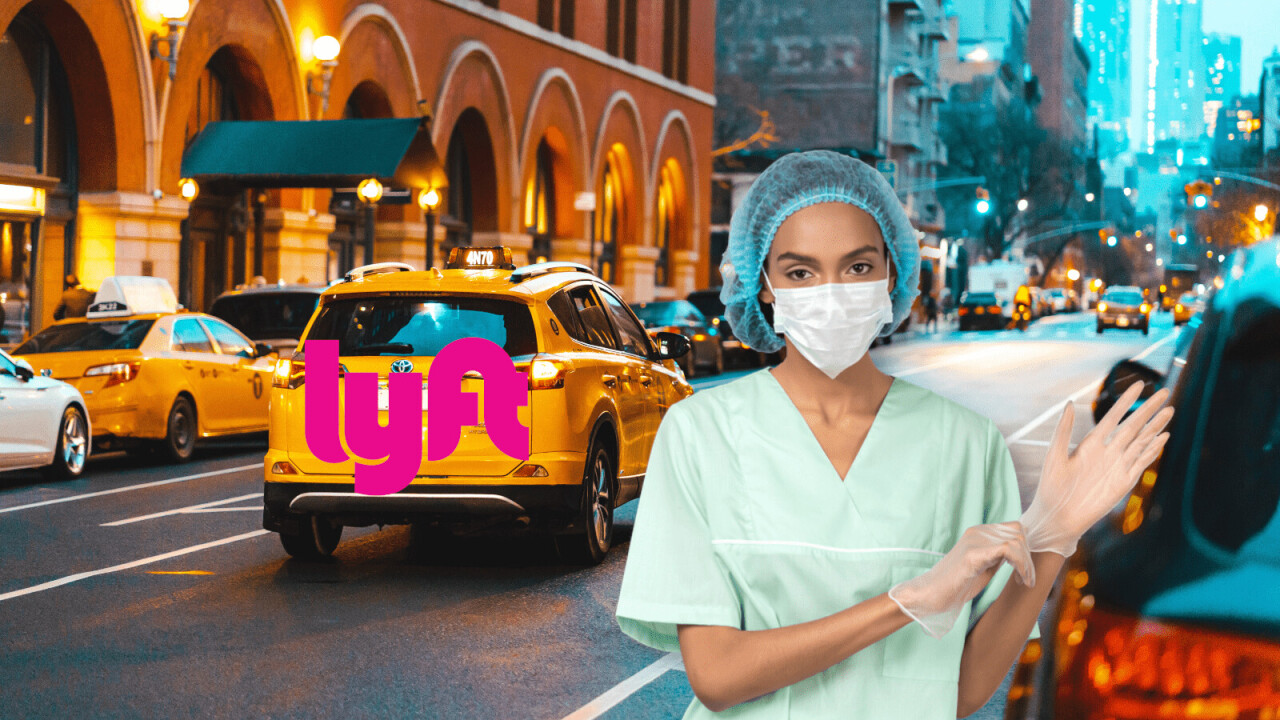 Lyft is handing out free coronavirus safety partitions — but only to some of its drivers