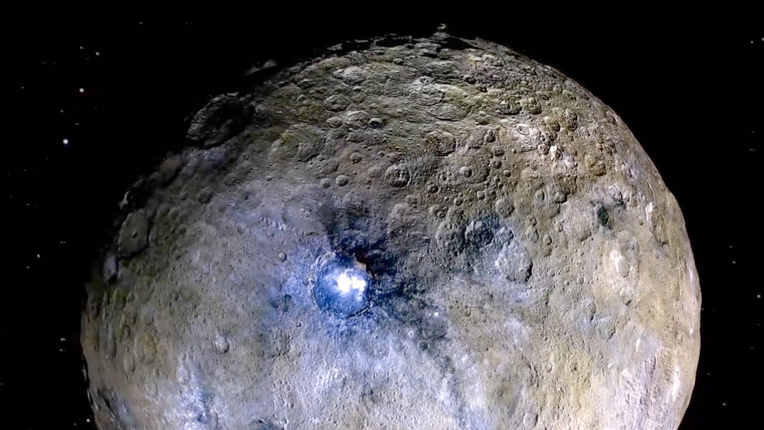 Dwarf planet Ceres is covered in deep salty oceans, spacecraft finds
